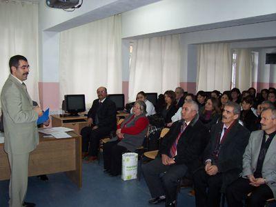 Çubuk Milli Eğitim Müdürlüğü OKS Danışma Brosu açtı