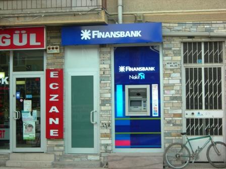 Finansbanktan ATM Hizmeti