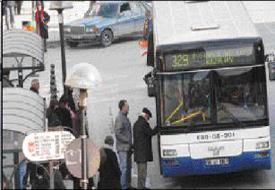 EGO otobüsleri havaalanı seferinde