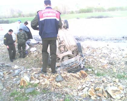 Trafik kazası 1 Ölü...