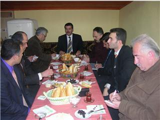 Başkandan yerel basın ile toplantı