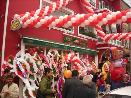 Çubukta Simit Sarayı Açıldı