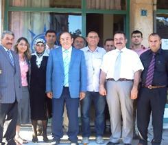 Ahmet İyimaya AKP İlçe Teşkilatını ziyaret etti