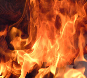 Büğdüzde Yangın
