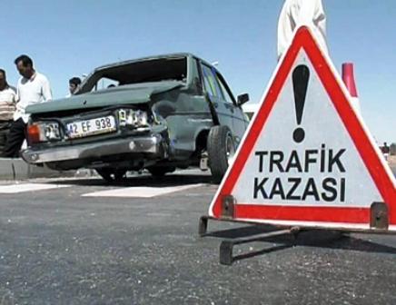 Esenboğada Trafik Kazası 1 Ölü 4 Yaralı