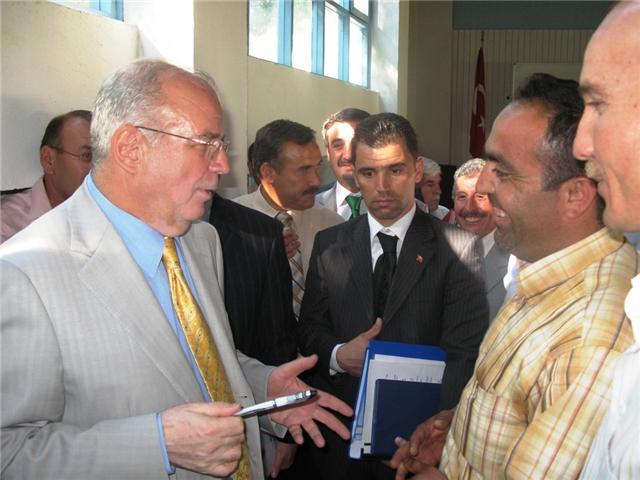 Ankara Valisi Kemal Önal Besicilerle Toplantı Yaptı