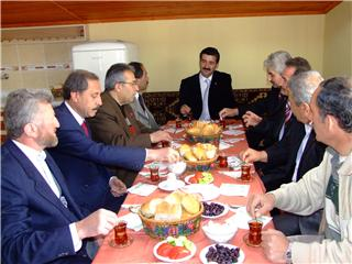 Parti Başkanları ile istişare toplantısı
