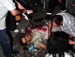 Katliamın faili PKK...