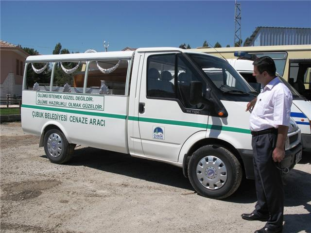 Cenaze Taşıma Aracı Hizmete Girdi
