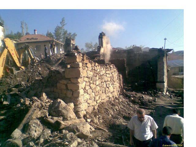 Yıl-Der Yangın Mağdurlarına Sahip Çıktı