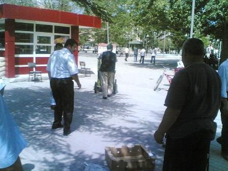 Atatürk Parkı Girişi  Açıldı