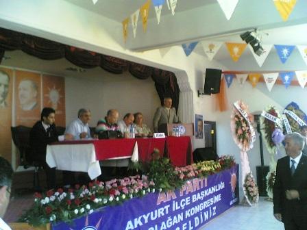 Akyurt AKP İlçe kongresi yapıldı