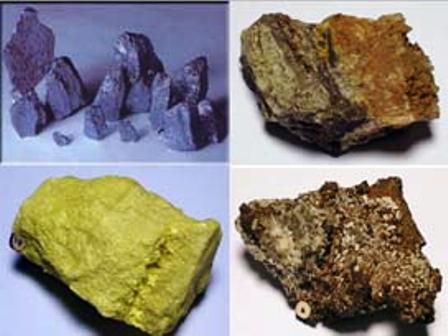 90 çeşit madenin 77si Türkiyede