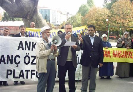 Ankara 136 Hafta basın açıklaması