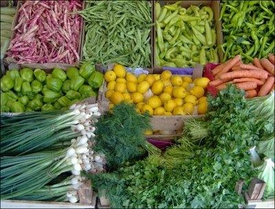 Sebze ve Meyvelerin Azami Satış Fiyatları