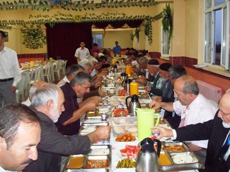 Din Görevlileri İftar Yemeğinde Buluştu