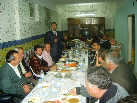 Anadolu Gençlik Derneği Çubuk Şubesi'nden İftar Programı