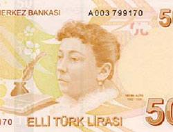Türk lirasında farklı yüzler