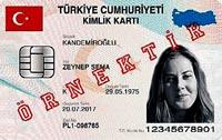 İşte Çipli TC kimlik kartlarımız