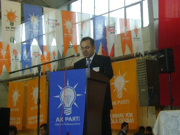 Acehan yeniden Akp ilçe Başkanı