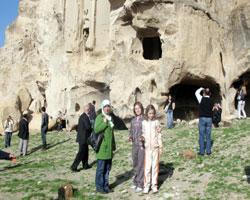Belediye personeli Kapadokyayı gezdi
