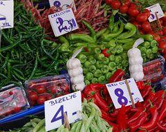 Sebze ve meyve fiyatları