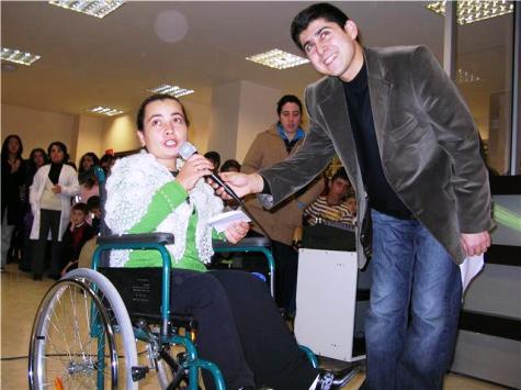 Engelliler Çubuk Aile Yaşam Merkezinde Eğlendi