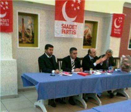 Saadet Partisi Muhtarlarla İstişare toplantısı yaptı