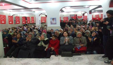 MHP Aday Tanıtım Toplantısı Yapıldı