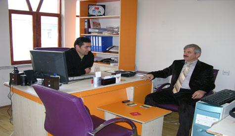 Dr. Mustafa Özden Çubuk Haberi Ziyaret Etti