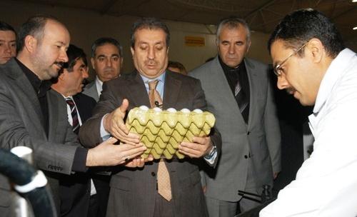 Tarım Bakanı Mehdi Eker çubukta