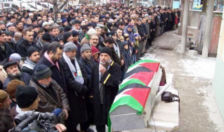 Çubukta Filistin İçin Namaz ve Miting