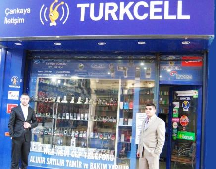 Çubukta Turkcell Satış Noktası