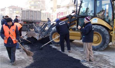 Çubuk Ankara Yolu Yeniden İnşa Ediliyor!