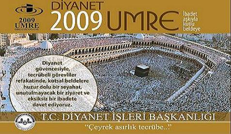 2009 Yılı Umre Kayıtları Başladı
