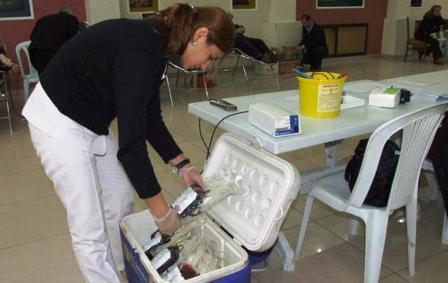 Çubukta Kan Bağışı Kampanyasına Yoğun İlgi