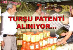 Turşu patenti alınıyor