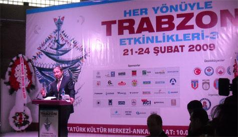 Lokman Özden Trabzon Etkinliklerinde
