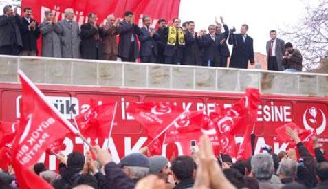 Muhsin Yazıcıoğlu Çubukta