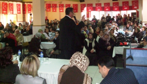 MHP Kadın Kolları İştişare Toplantısı yapıldı