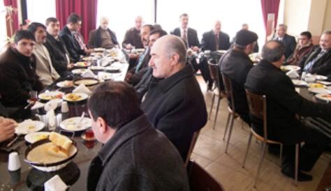 Gökmen Muhtar Adaylarıyla Kahvaltıda buluştu