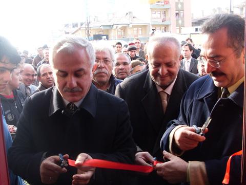 Lokman Özden Yeni Seçim Bürolarını Açtı