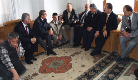 Bakan Yazıcıoğlu Taziye Ziyaretlerinde Bulundu