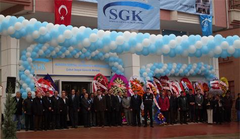 Çubukta SGK açıldı