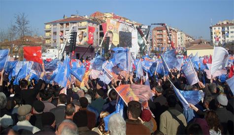 Ak Parti Ankara Mitingini Yaptı