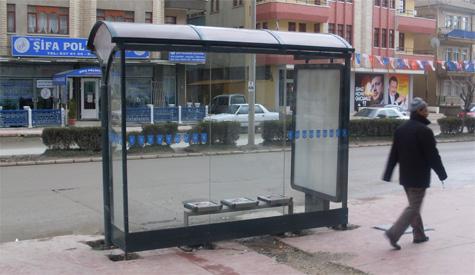 Otobüs Durakları Yenileniyor