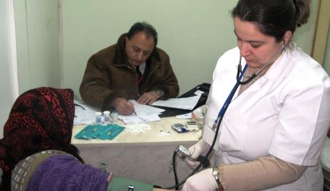 Çubukta Yaşlılara Ücretsiz sağlık Kontrolü