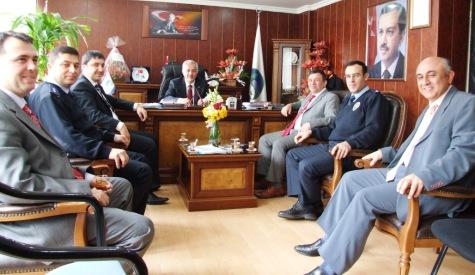 İlçe Emniyet Müdürü Lokman Özdeni Ziyaret etti.