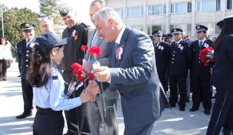 Polis Haftası Çubukta Törenle Kutlandı