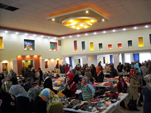İHH Filistin için Çubukta Kermes Düzenledi